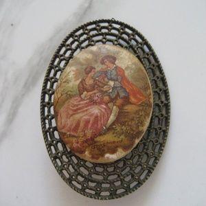Vintage Victorian Brooch Pin